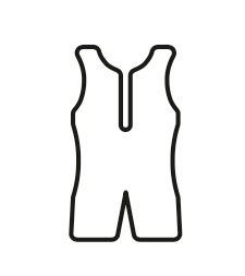 Tri suit for triathlon